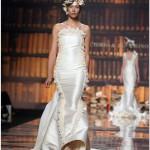 BCN18MAY010.- Barcelona Bridal Week - Pasarela Gaudí Novias: Victorio & Lucchino 2011