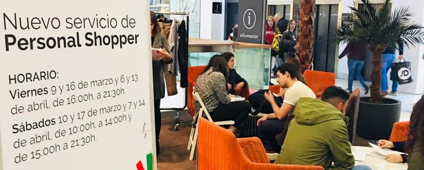 Personal Shopper con Doble Erre y el CC. Los Arcos